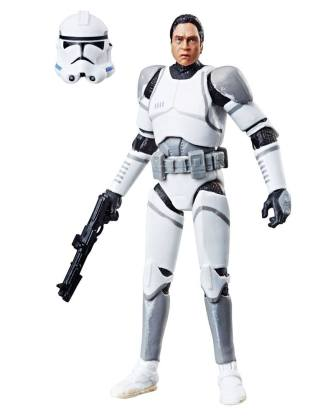 Star Wars EP II Vintage Collection Akciófigura 2019 - 41st Elite Corps Clone Trooper Exclusive 10 cm
