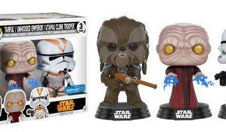 Star Wars Funko POP! Figura 3-Pack 2017 Fall Convention Exclusive 9 cm
