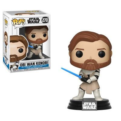 Star Wars Clone Wars Funko POP! Figura – Obi-Wan Kenobi 9 cm