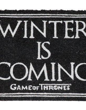 Game of Thrones / Trónok harca lábtörlő - Winter Is Coming 43 x 72 cm