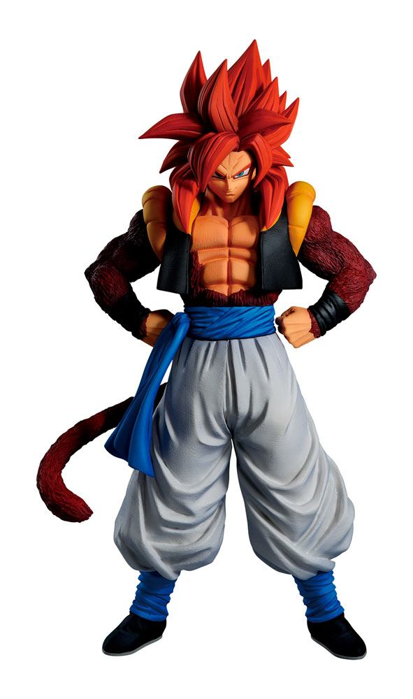 Dragon Ball Ichibansho PVC Szobor - Super Saiyan 4 Gogeta 25 cm