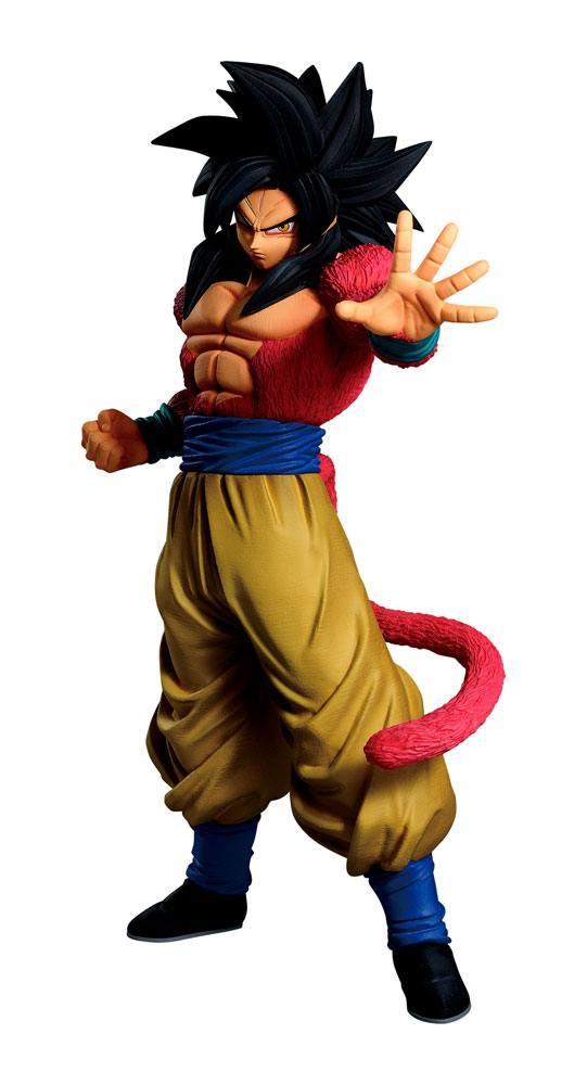Dragon Ball Ichibansho PVC Szobor - Super Saiyan 4 Goku 25 cm