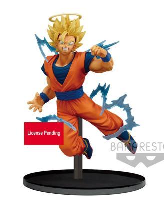 Dragonball Z Dokkan Battle PVC Szobor - Super Saiyan 2 Goku (Angel) 15 cm