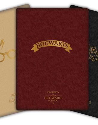 Harry Potter A6 Jegyzetfüzet - Hogwarts 3 db