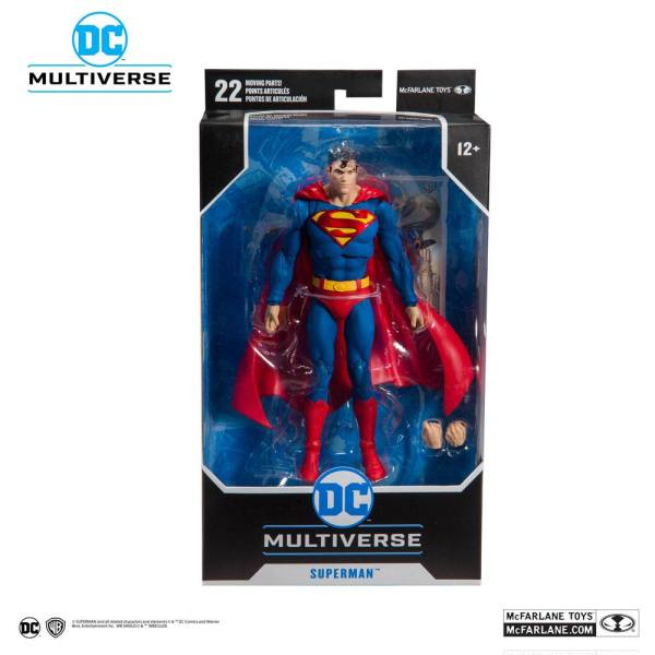 x_mcf15002-5 DC Rebirth Akciófigura - Superman (Modern) Action Comics #1000 18 cm