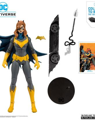 x_mcf15401-6_a DC Rebirth Build A Akciófigura - Batgirl (Art of the Crime) 18 cm