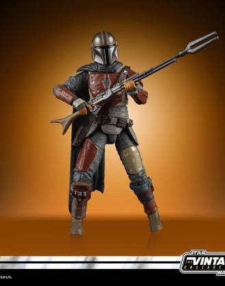 Star Wars Vintage Collection Akciófigura 2020 - The Mandalorian (The Mandalorian) 10 cm