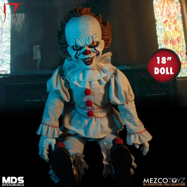 x_mez43060_b Stephen Kings It 2017 MDS Roto Plush Doll Pennywise 46 cm