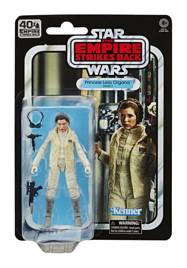 x_hase7549eu40_a Star Wars Black Series Akciófigura - Princess Leia Organa (Hoth) 40th Anniversary 15 cm