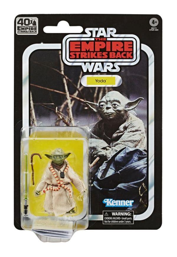x_hase7549eu40_h Star Wars Black Series Akciófigura - Yoda 40th Anniversary