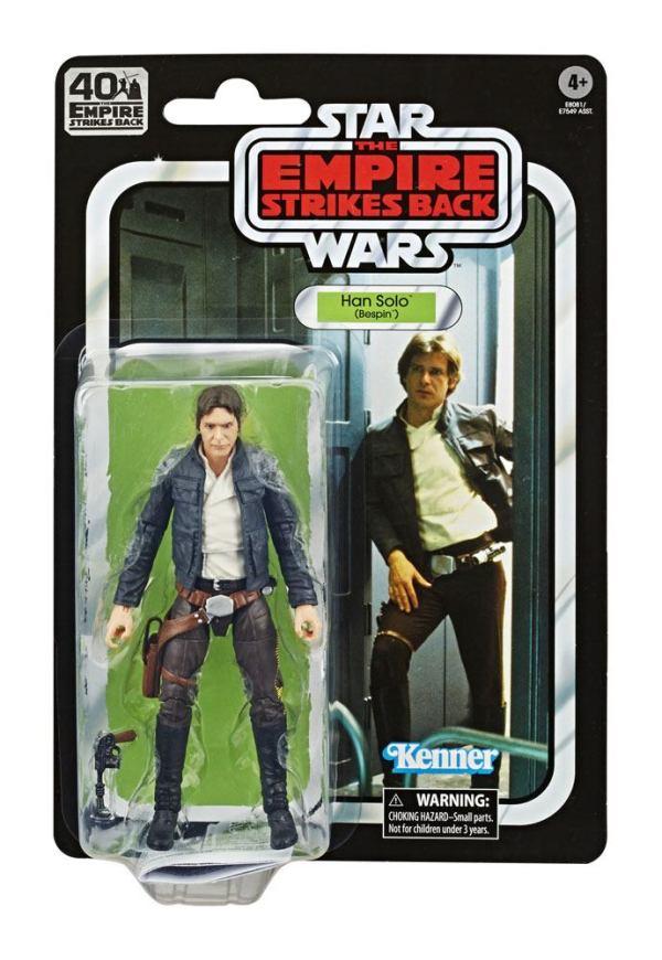 Star Wars Black Series Akciófigura - Han Solo (Bespin) 40th Anniversary 15 cm