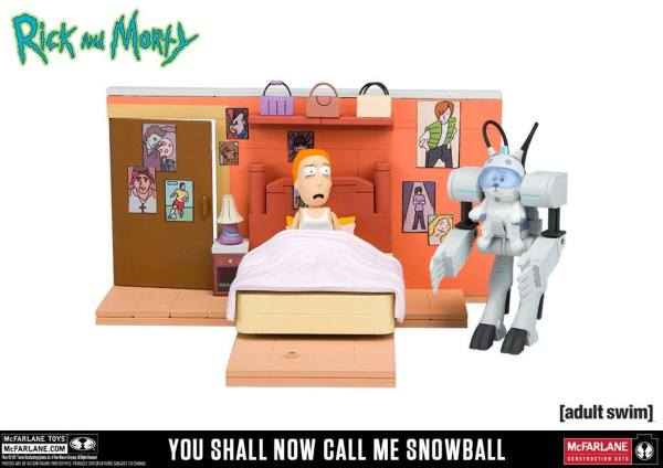 Rick and Morty Medium Construction Set - You Shall Now Call Me Snowball