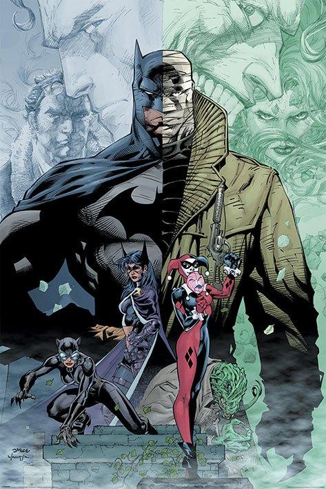 DC Comics poszter - Batman Hush 61 x 91 cm