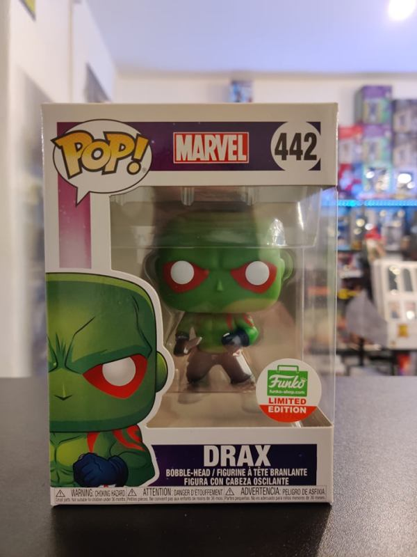 Funko POP Funko Shop EX Marvel Comics - Drax