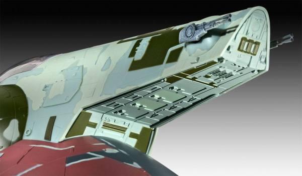 x_rev05678 Star Wars Model Kit 1/88 Slave I - 40th Anniversary 34 cm