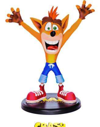 Crash Bandicoot N. Sane Trilogy PVC Szobor - Crash Bandicoot 23 cm