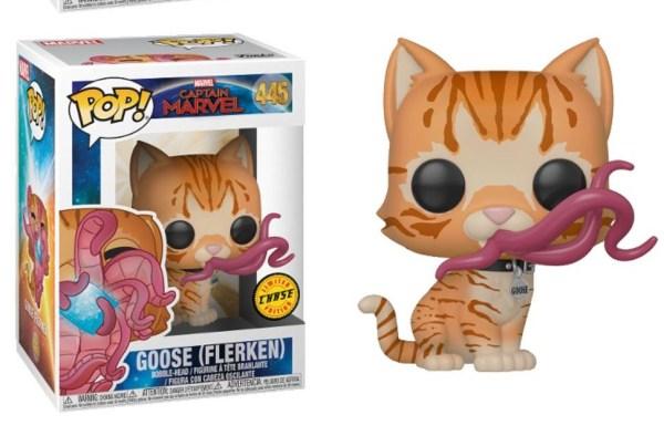 Captain Marvel POP! figura - Chase Goose (Flerken) 9 cm