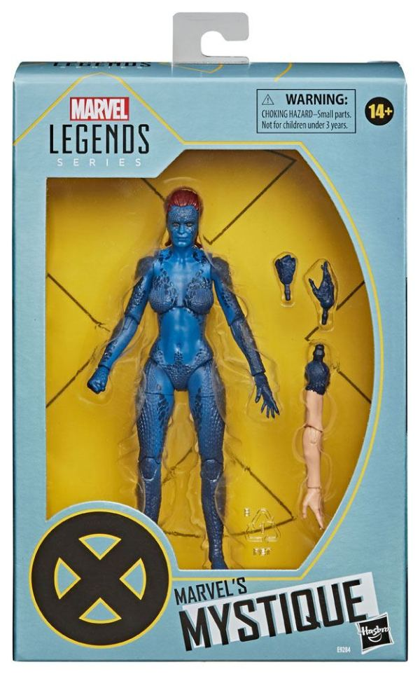 x_hase9284 X-Men Marvel Legends Series Akciófigura 2020 - Marvel's Mystique 15 cm