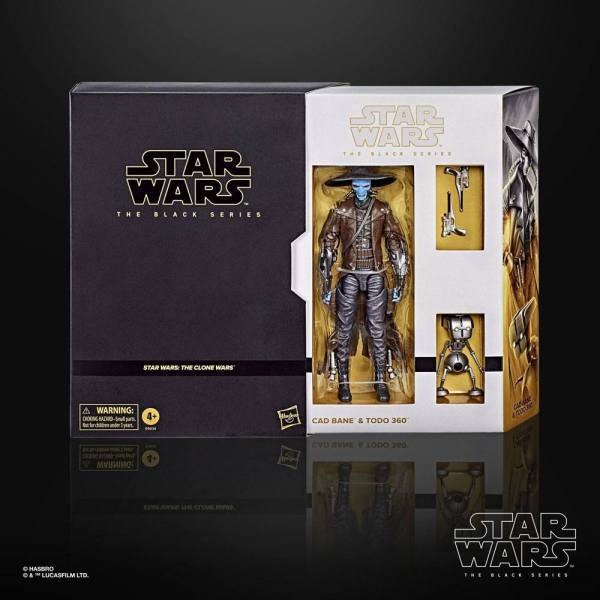 x_hase9634 Cad Bane & Todo 360 Exclusive 15 cm (The Clone Wars)