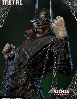 x_p1smmdcmt-01 Dark Nights: Metal Szobor - 1/3 Batman Who Laughs Exclusive Version 86 cm