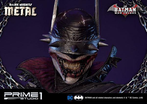 x_p1smmdcmt-01 Dark Nights: Metal Szobor - 1/3 Batman Who Laughs Exclusive Version 86 cm