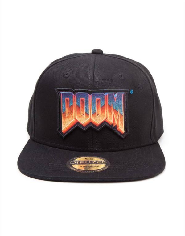 Doom Snapback sapka - Logo