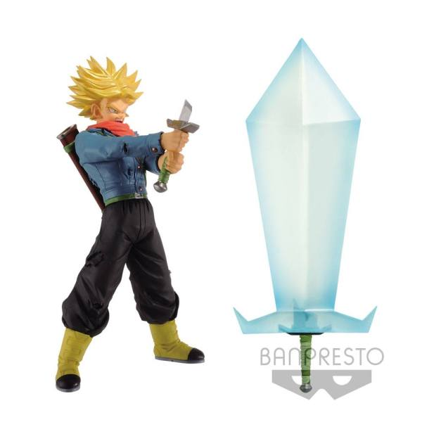 Dragon Ball Super Super Saiyan 2 Trunks Szobor & Blade of Hope 24 cm