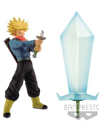 Dragon Ball Super Super Saiyan 2 Trunks Szobor & Blade of Hope 24 cm