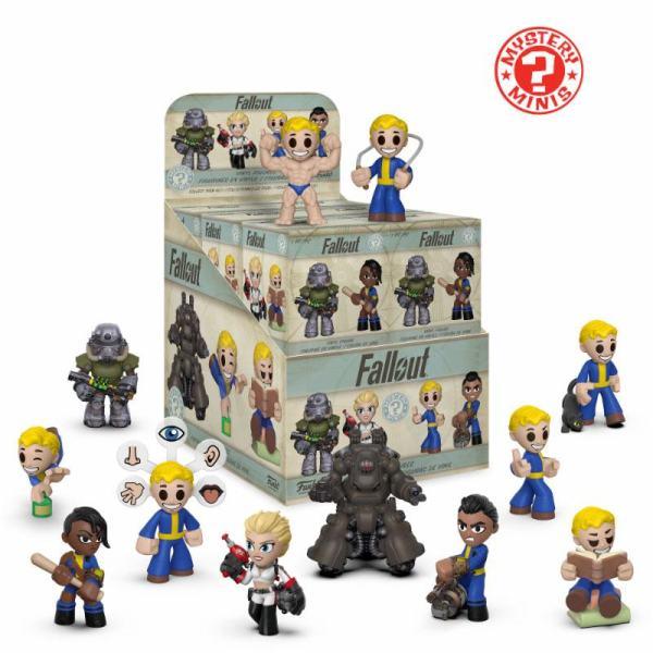 Fallout Mystery Minis Vinyl Mini Figura 6 cm