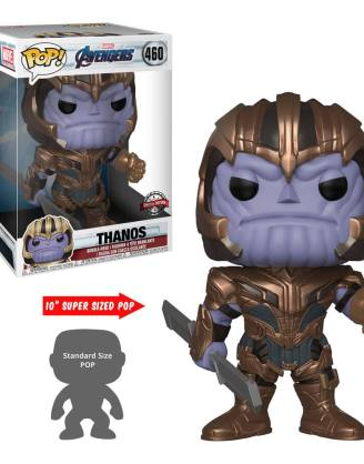 Avengers Endgame Super Sized Funko POP! Movies Vinyl Figura - Thanos 25 cm