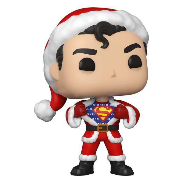 DC Comics Funko POP! Figura - DC Holiday: Superman in Holiday Sweater 9 cm