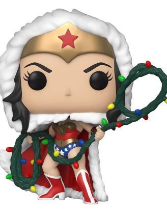 x_fk50652 DC Comics Funko POP! Figura - DC Holiday: Wonder Woman with String Light Lasso 9 cm