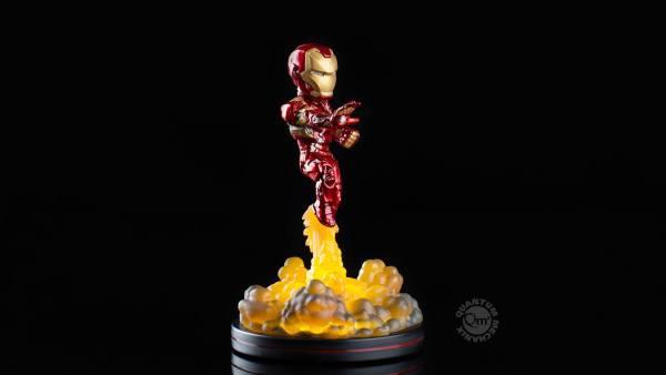 x_mvl-0011 Marvel Comics Light-Up Q-Fig Figure Iron Man 14 cm