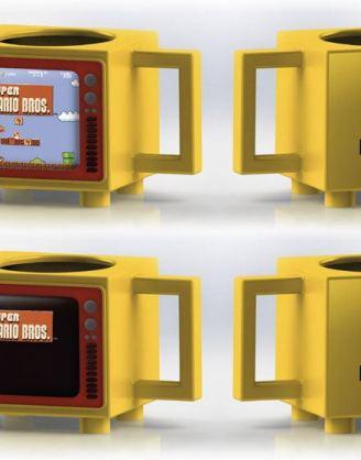 x_scmg25954 Nintendo - Super Mario Bros hőre változós bögre