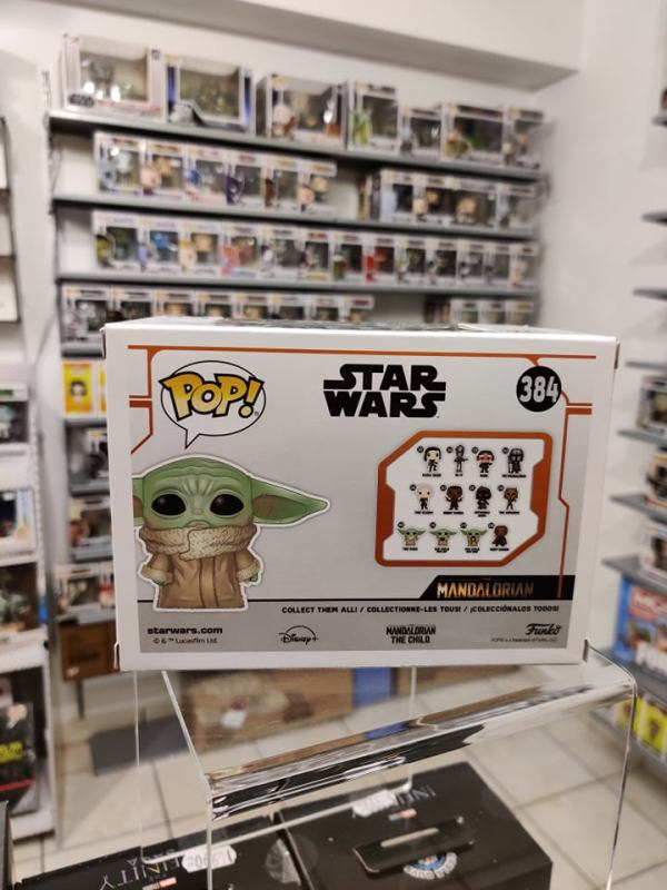 Star Wars: The Mandalorian Funko POP! Figura - The Child Concerned (Exclusive)