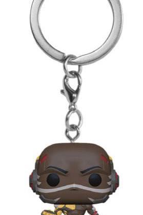 Overwatch Funko Pocket POP! kulcstartó - Doomfist 4 cm