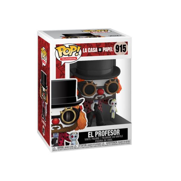 Money Heist POP! TV Vinyl Figure Professor O Clown 9 cm - FK44196