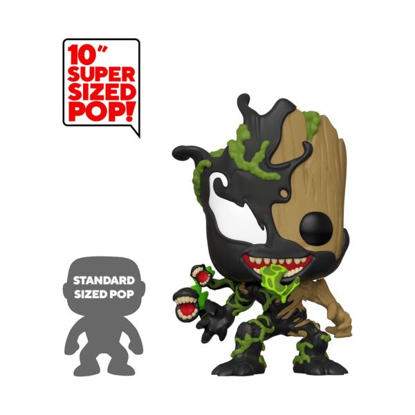 Marvel Venom Super Sized Funko POP! Movies Vinyl Figura - Groot 25 cm