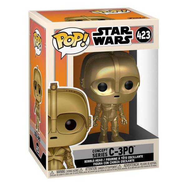 Star Wars Concept POP! Star Wars Vinyl Figure C-3PO 9 cm - fk50110