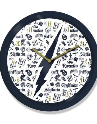 Harry Potter Wall Clock Infographic