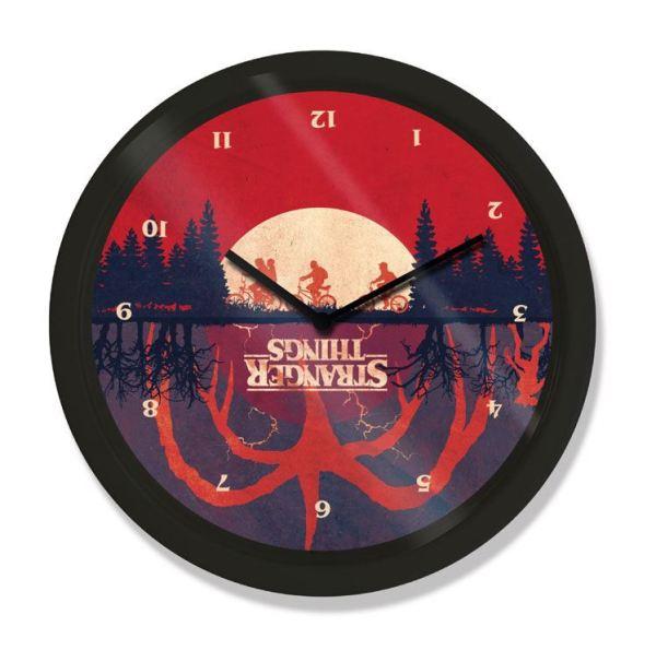 Stranger Things Wall Clock Upside Down - gp85455