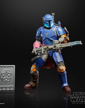 x_hasf1182_a Star Wars The Mandalorian Credit Collection Akciófigura 2020 - Heavy Infantry Mandalorian 15 cm