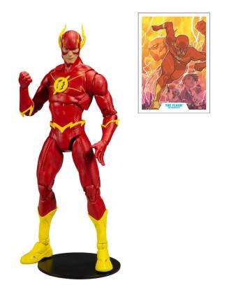 x_mcf15126-8_a DC Multiverse Akciófigura - Modern Comic Flash 18 cm