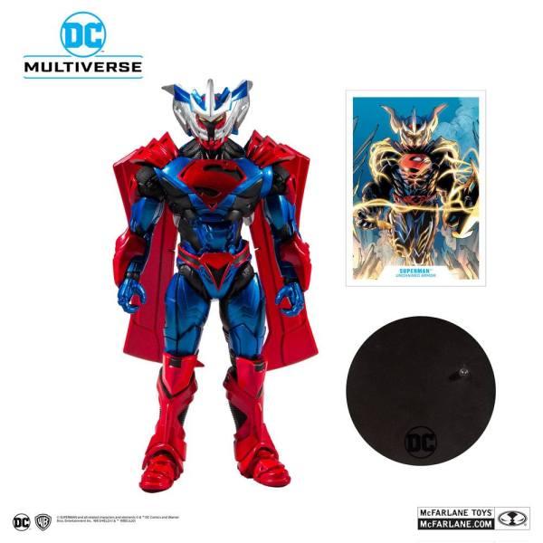 Superman Unchained Akciófigura - Superman (Unchained Armor) 18 cm