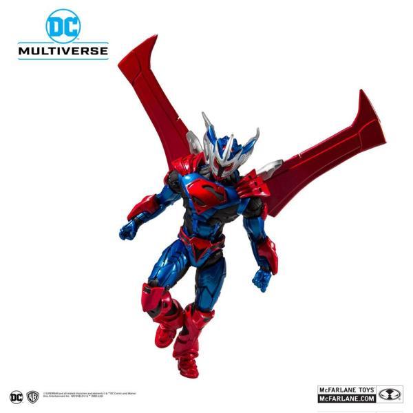 x_mcf15602-7_d Superman Unchained Akciófigura - Superman (Unchained Armor) 18 cm
