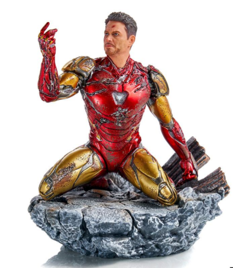 Avengers: Endgame BDS Art Scale Statue 1/10 I am Iron Man 15 cm-IS89988