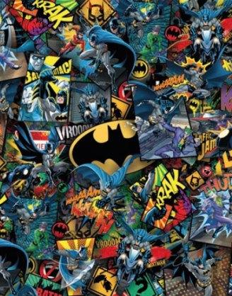 x_clmt39575 DC Comics Impossible Jigsaw Puzzle Batman (1000 pieces)