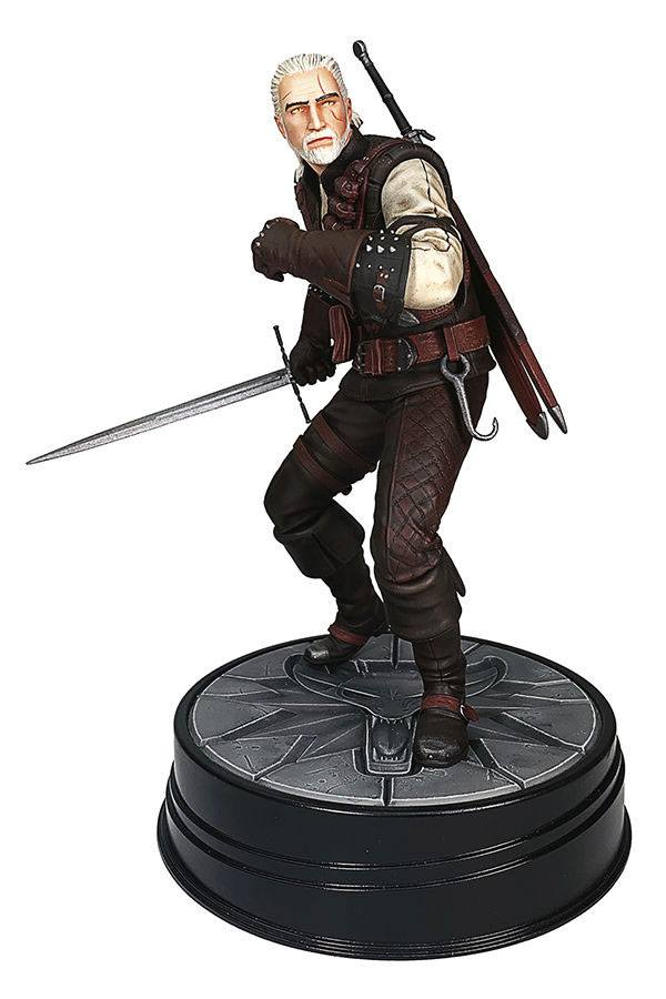 Witcher 3 Wild Hunt PVC Szobor - Geralt Manticore 20 cm - daho3007-972