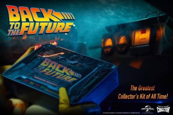 x_doco-95129 Back To The Future Time Travel Memories Kit Plutonium Edition