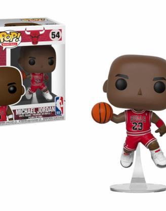 x_fk36890 NBA Funko POP! Sports Vinyl Figura - Michael Jordan (Bulls) 9 cm